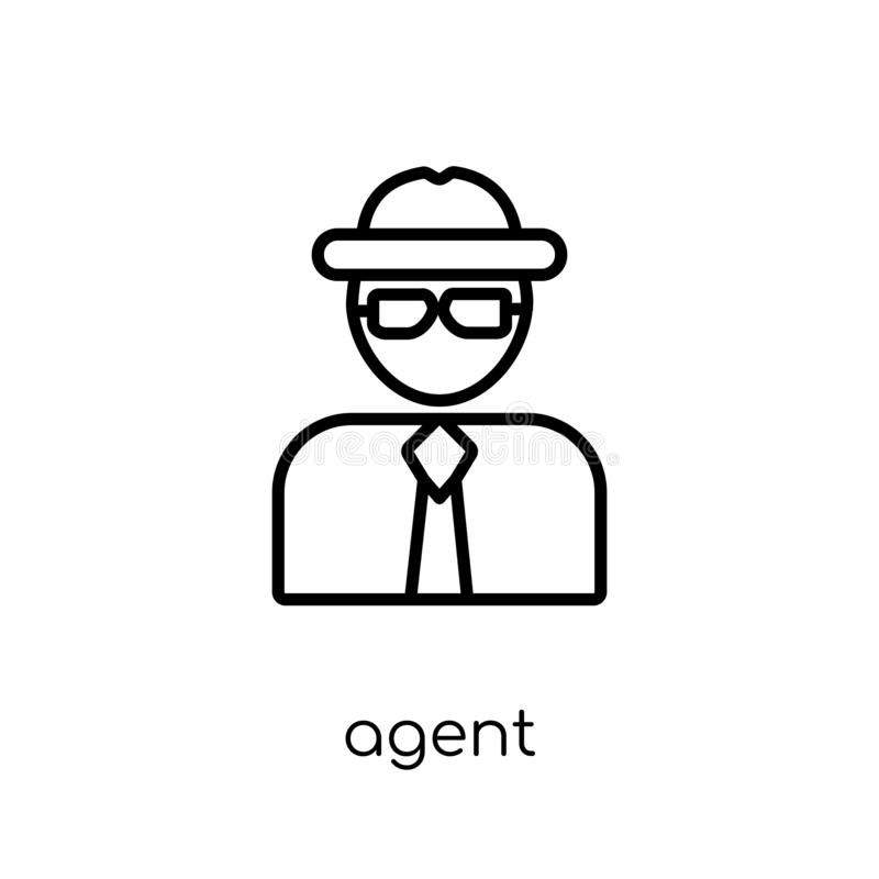 Customer Help Worker Icon From People Outline Collection