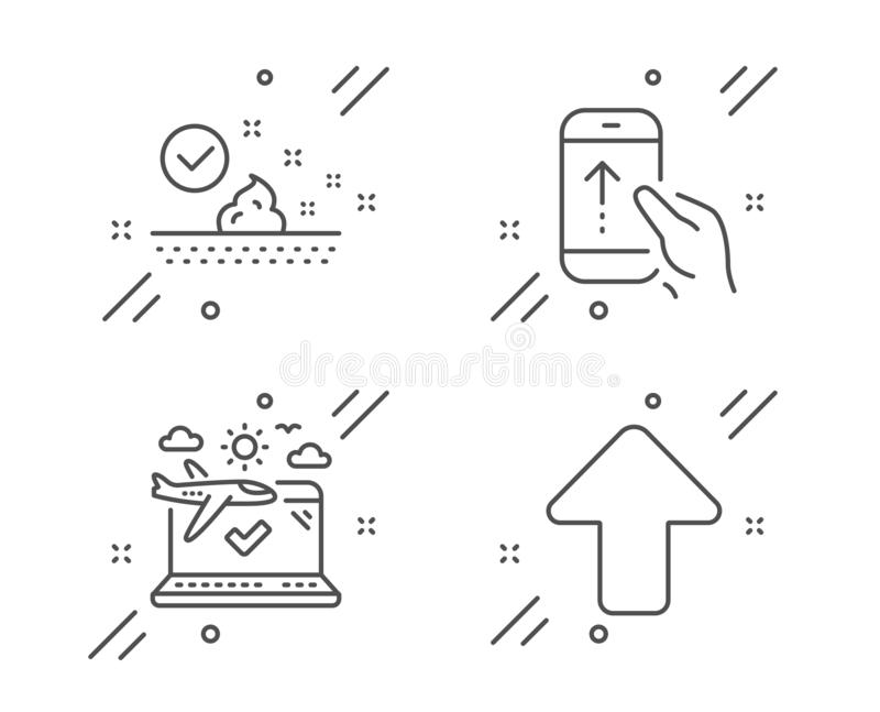 Upload Sign Icon. Upload Button. Stock Vector