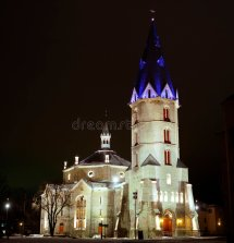 Alexander' Lutheran Church In Narva Estonia 2 Stock