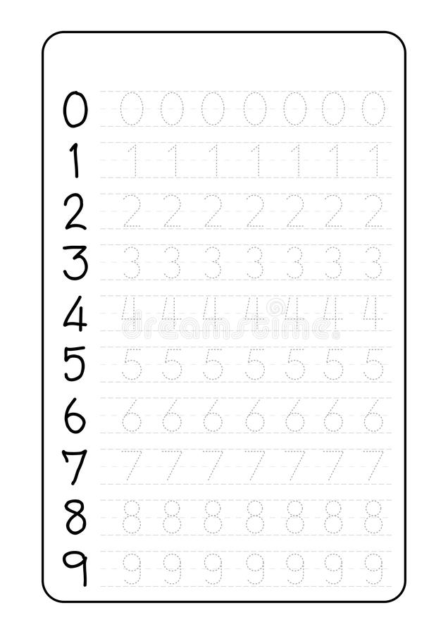 Number 2. Two Tracing Worksheet. Cherry Berry. Preschool