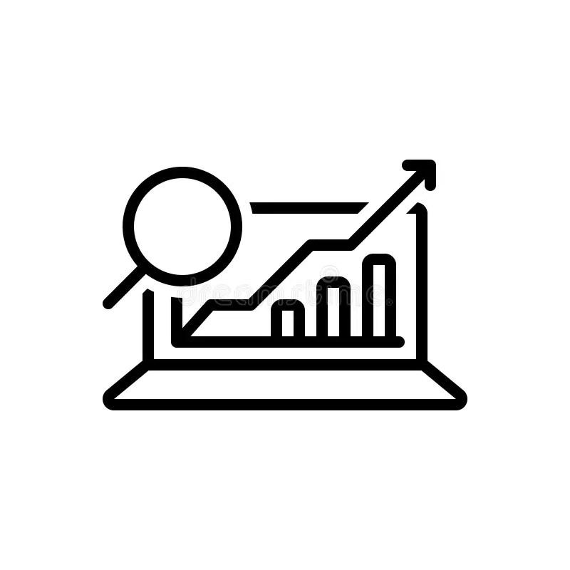 Analytics Data Stock Illustrations