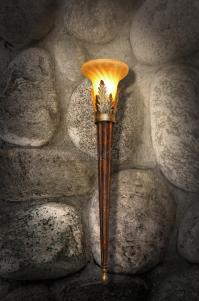 Ancient Fixture On A Stone Wall Stock Image - Image of ...