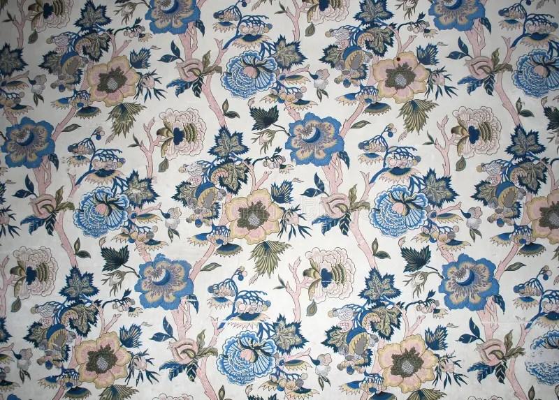 Antiek behang stock foto Afbeelding bestaande uit bloem