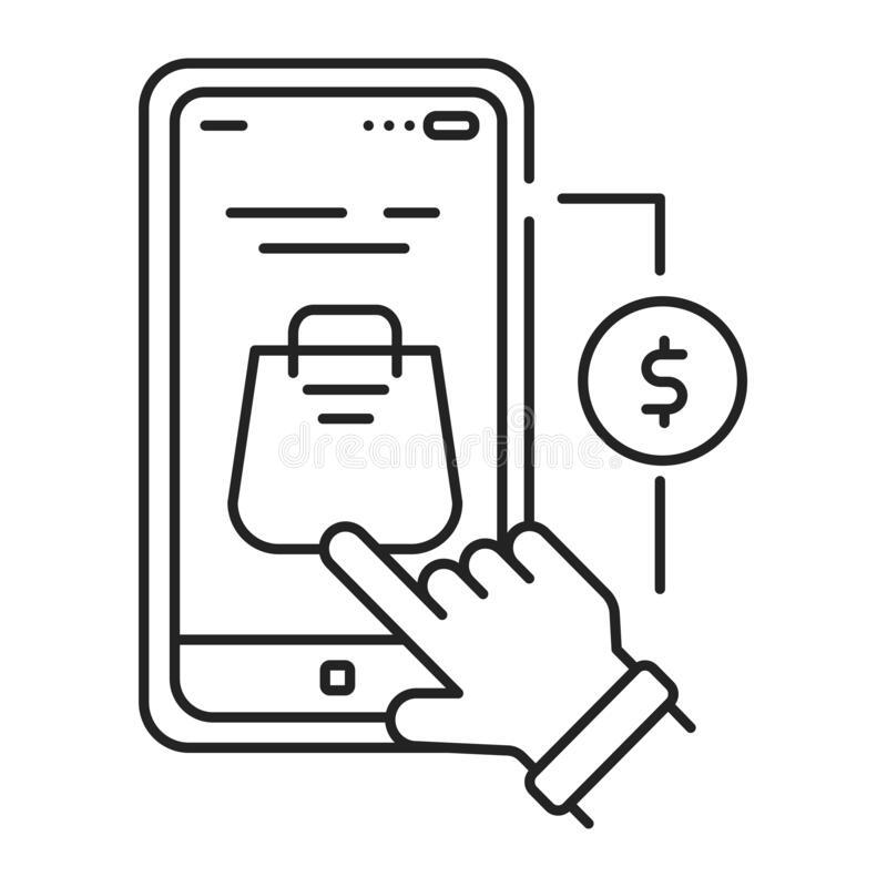 Icons Refers Stock Illustrations