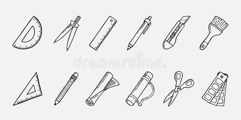 Architecture Tools Stock Illustrations 10 701 Architecture Tools Stock Illustrations Vectors Clipart Dreamstime