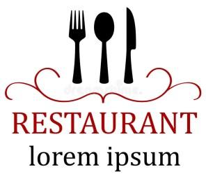 menu restaurant icon food preview kitchen illustration
