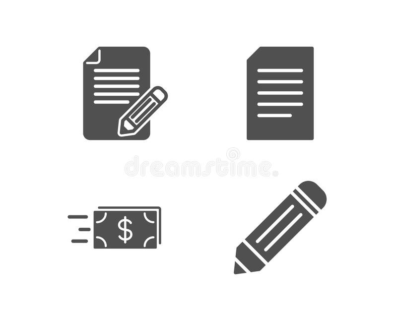 Article, File Line Icon. Simple, Modern Flat Vector