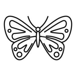 Butterfly Outline Stock Illustrations 17 209 Butterfly Outline Stock Illustrations Vectors & Clipart Dreamstime