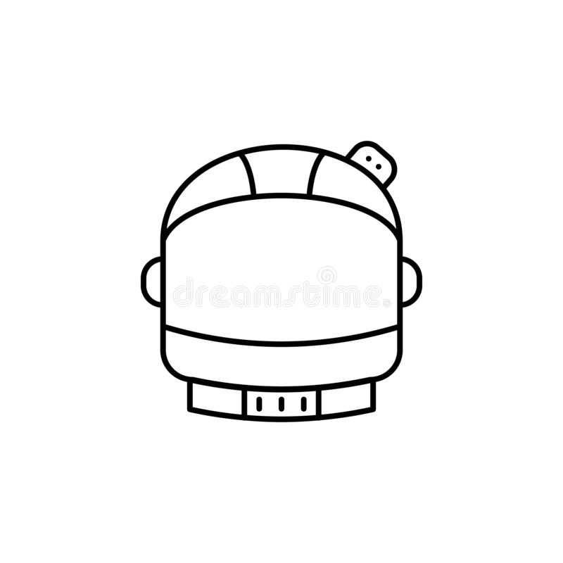 Cosmos icon stock vector. Illustration of observatory