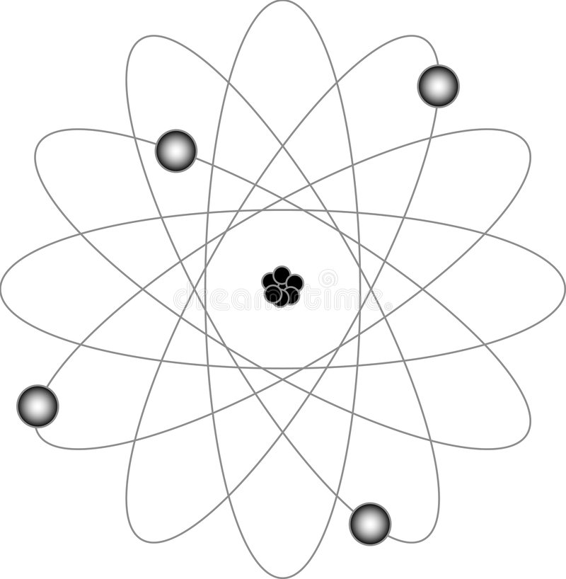 Conduction Physics Example Diagram, Vector Illustration
