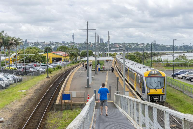 Auckland`s Orakei Railway Station On The Eastern Line Editorial Photography - Image of eastern. line: 164088537