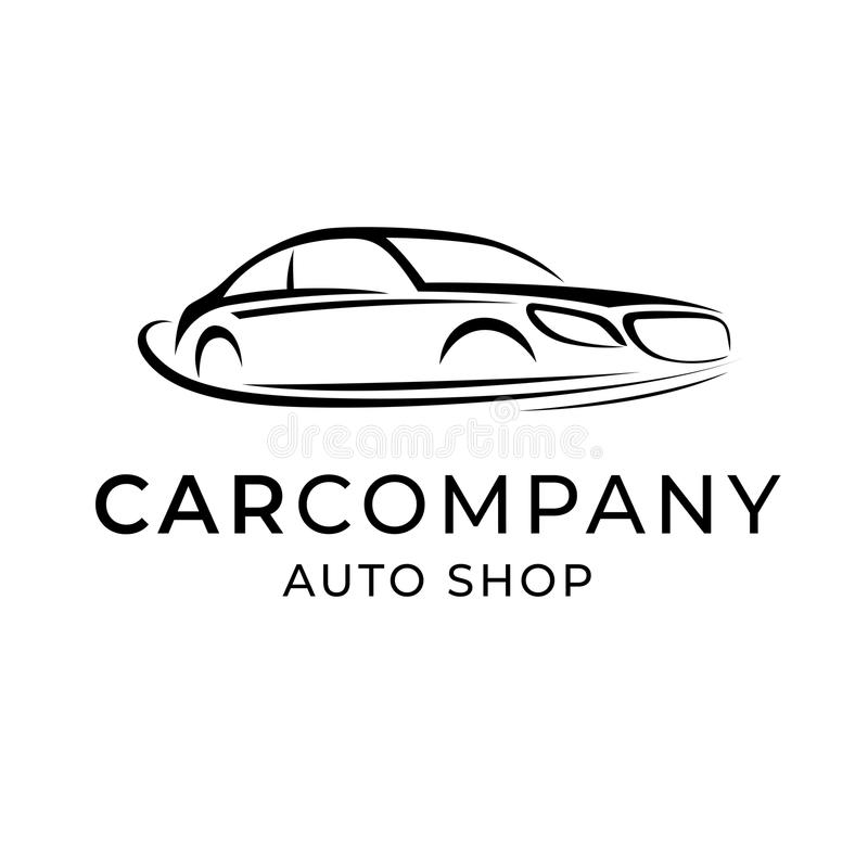 Car company logo stock vector. Illustration of business