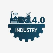 Automation Industry 4.0 Icon Technology Concept