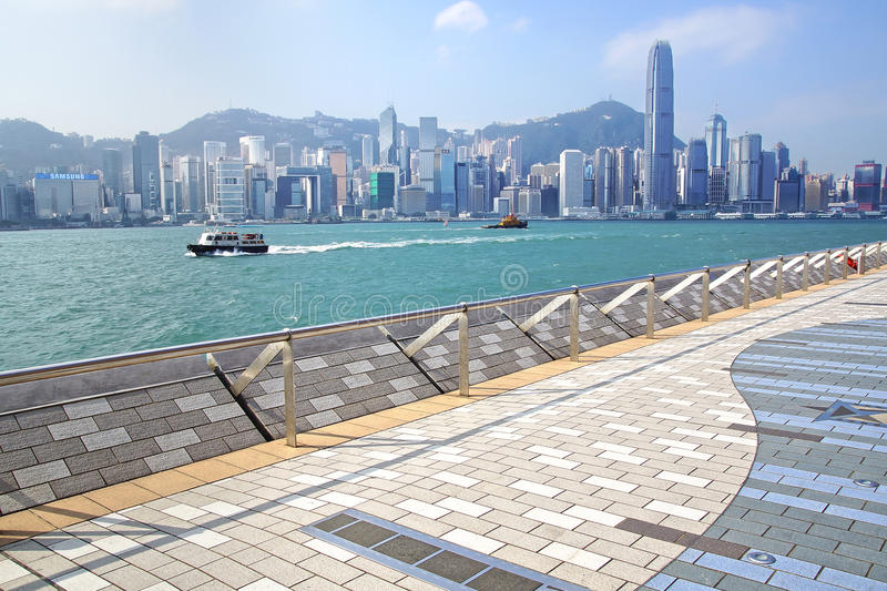 Avenue of Stars. Hong Kong editorial stock photo. Image of industry - 34961968