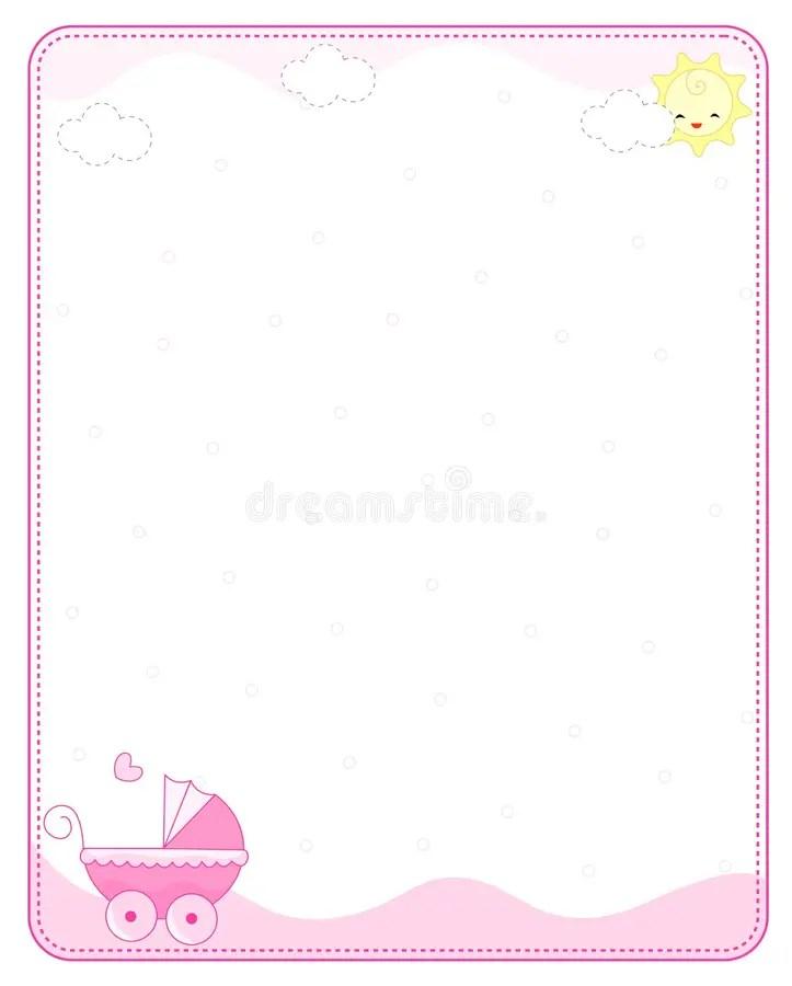 Pink Baby Shower Border : shower, border, Border, Frame, Stock, Illustrations, 17,771, Illustrations,, Vectors, Clipart, Dreamstime