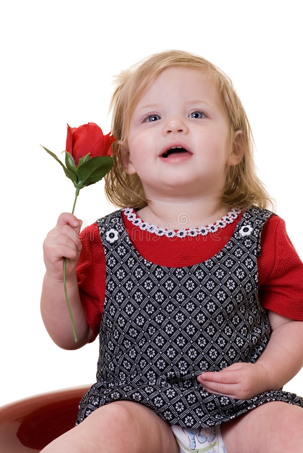 Cute Baby With Rose : 1,317, Holding, Photos, Royalty-Free, Stock, Dreamstime