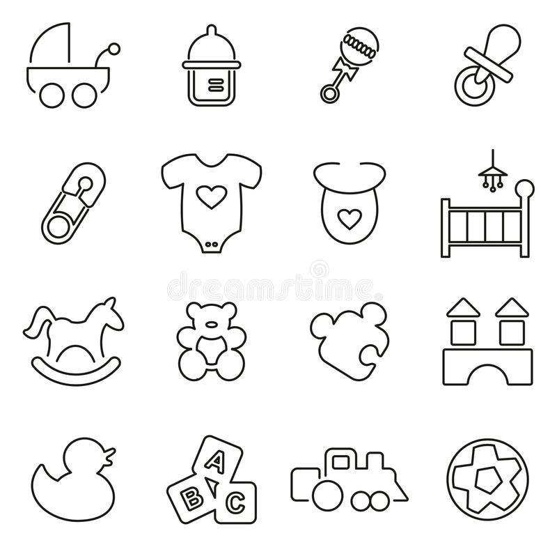 Bottle Icons Freehand Fill stock vector. Illustration of