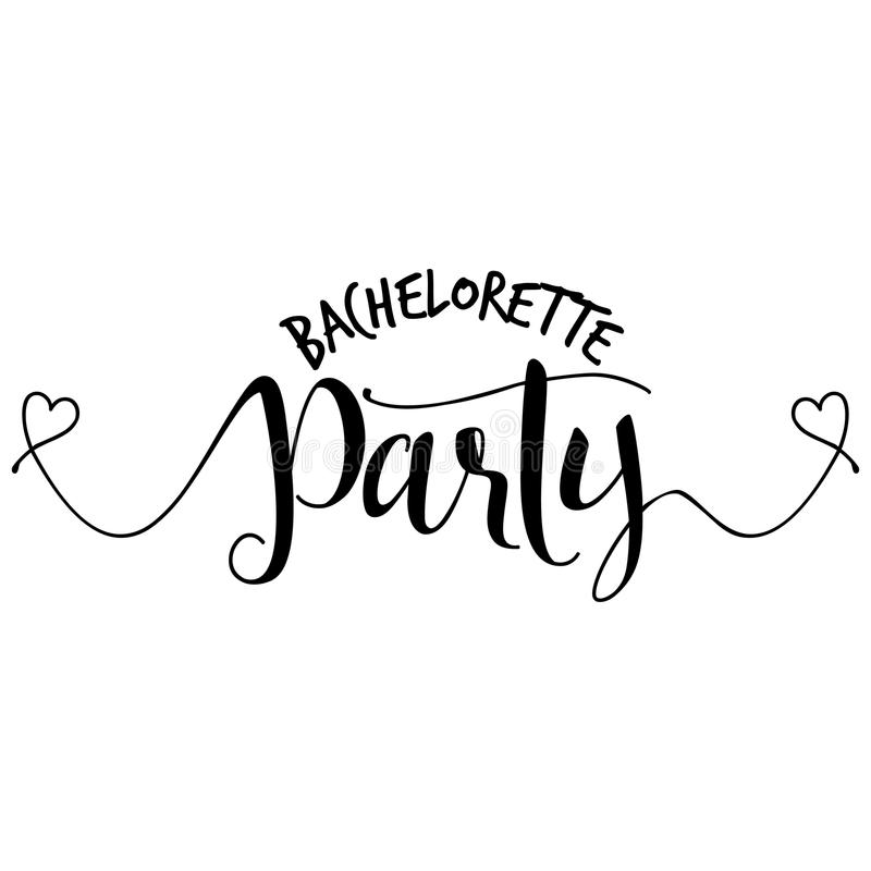 Bachelorette Party Stock Illustrations