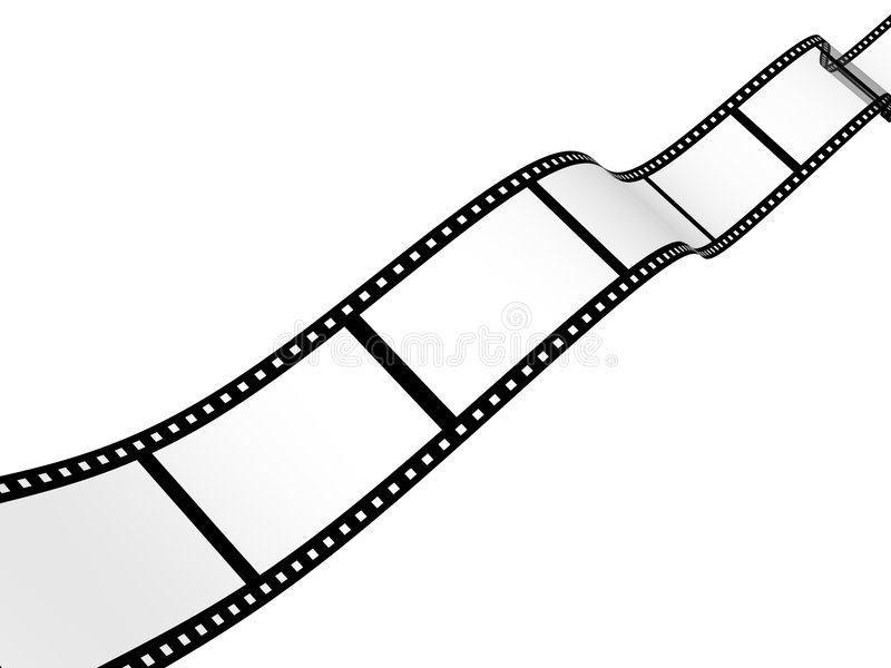 Professional Of Storyboard Film Strip Template Stock
