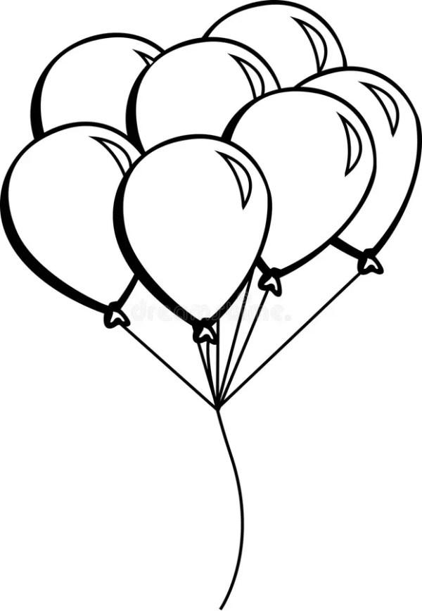 balloons vector illustration stock