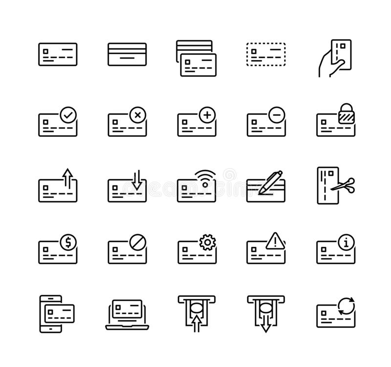 Set Of Economy And Finance Related Icons Stock Vector