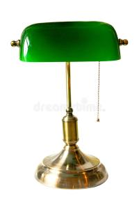 Bank Lamp Royalty Free Stock Images - Image: 17494369