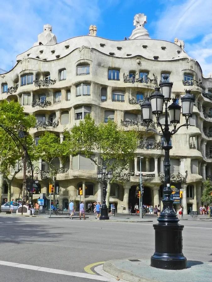 BARCELLONA SPAGNA  1 Settembre Architettura Di Stile Di Modernismo Ca Immagine Stock
