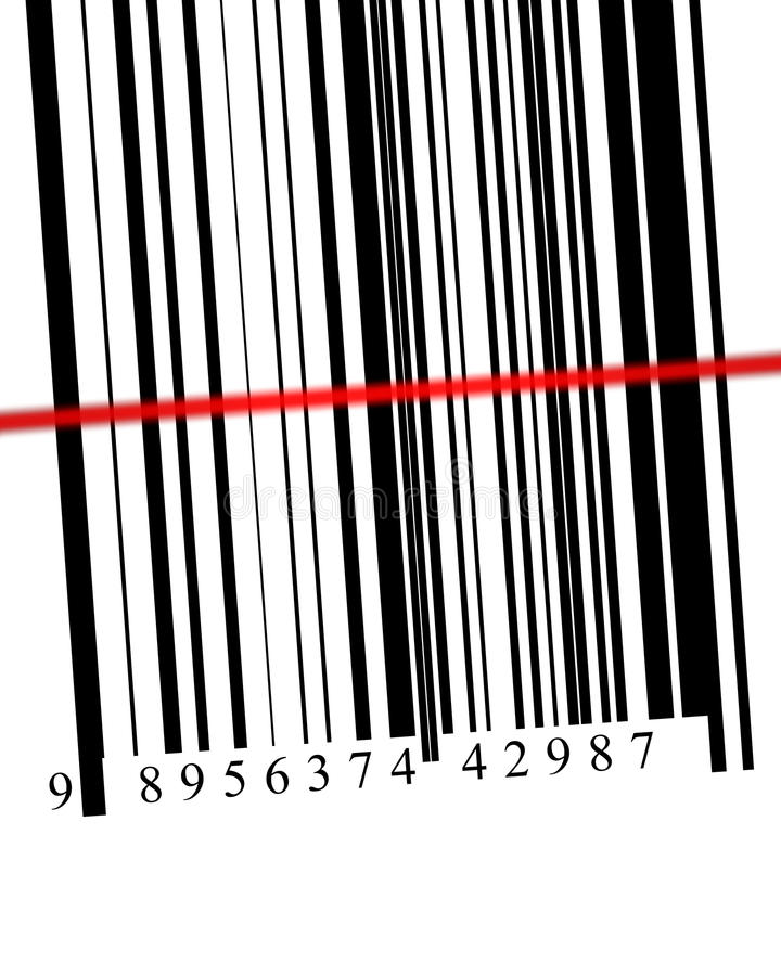 Barcode Reader stock photo. Image of black, electronic