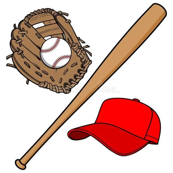 Baseball Equipment Stock Vector. Illustration Of Isolated - 53635410
