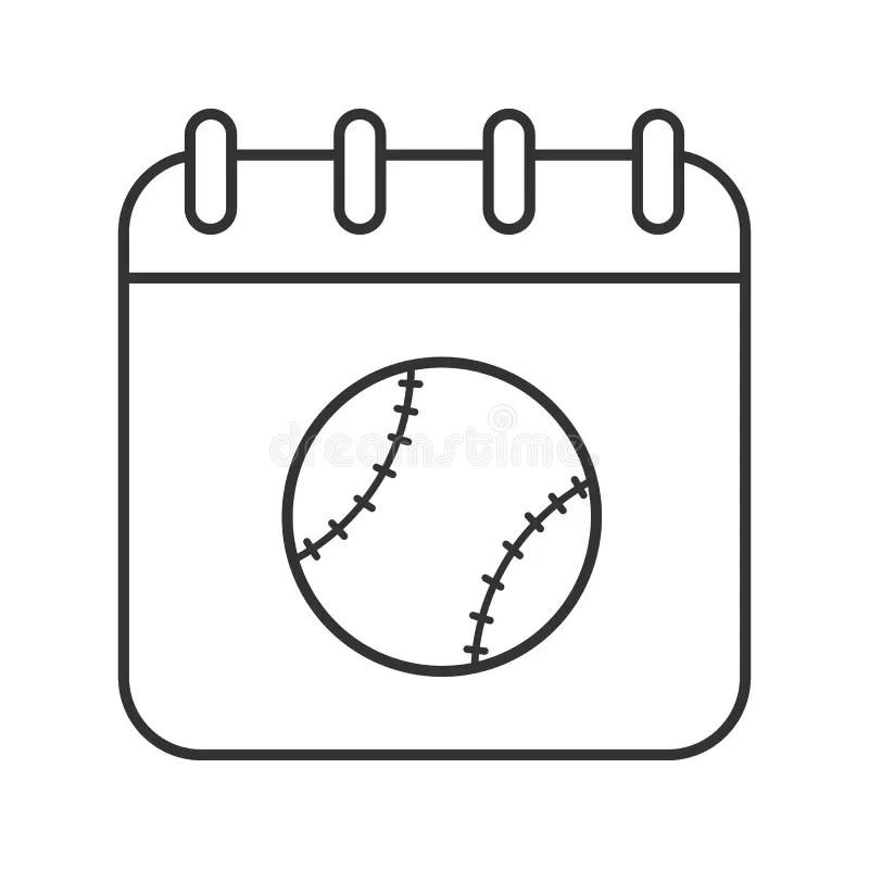 Softball Tournament Illustration Stock Vector