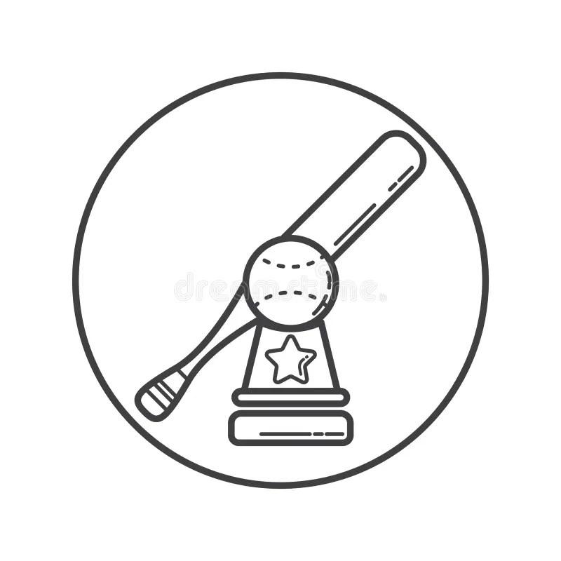 Golden baseball bat stock illustration. Illustration of