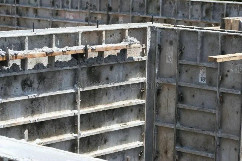 Basement Wall Forms Stock Photo  Image 42457313