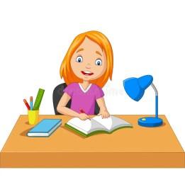 Cartoon Girl Studying Stock Illustrations 10 043 Cartoon Girl Studying Stock Illustrations Vectors & Clipart Dreamstime