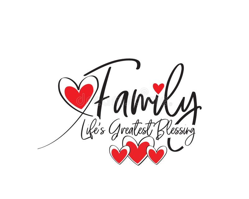 Download Family Quotes Stock Illustrations - 1,656 Family Quotes ...