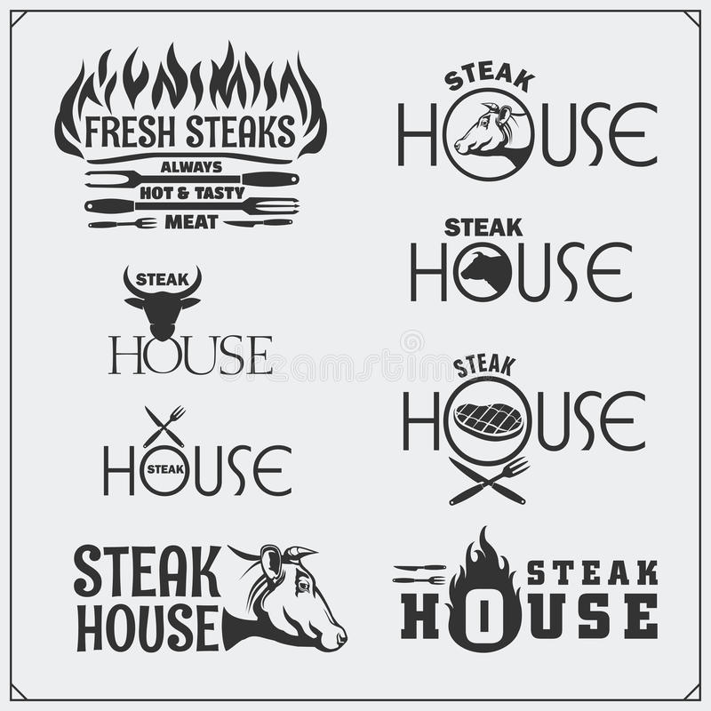 Vintage BBQ Grill Party stock vector. Illustration of cook