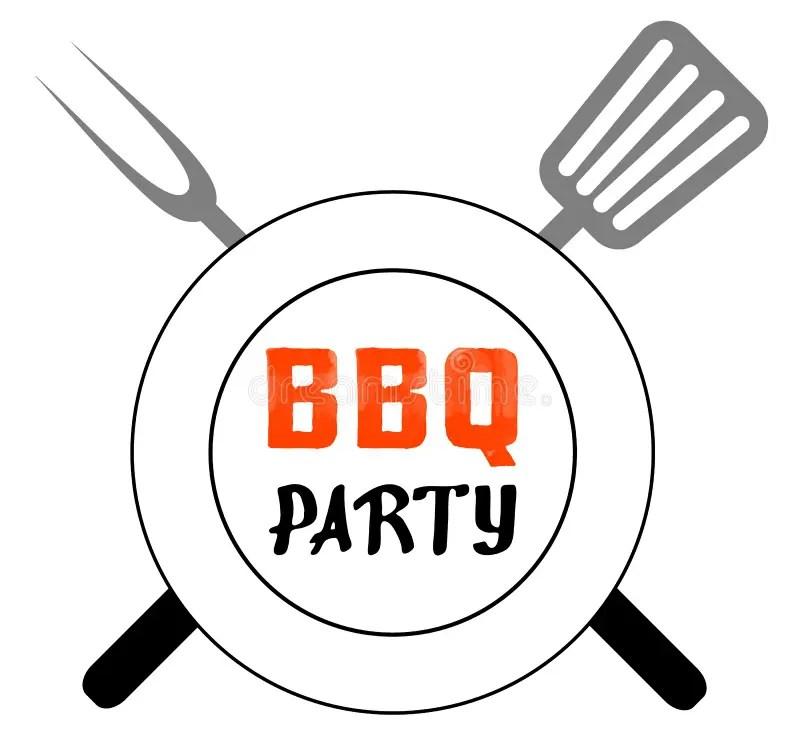 BBQ party stock vector. Illustration of menu, dinner