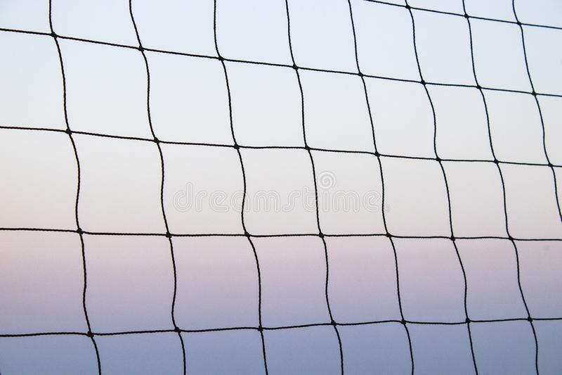 Beach Volleyball Net Summer Vacation Sport Concept Isolated Sky Background Stock Photo Image Of Match Exercise 159827164