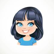 cartoon characters with bob hairstyles