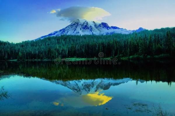 beautiful landscapes stock