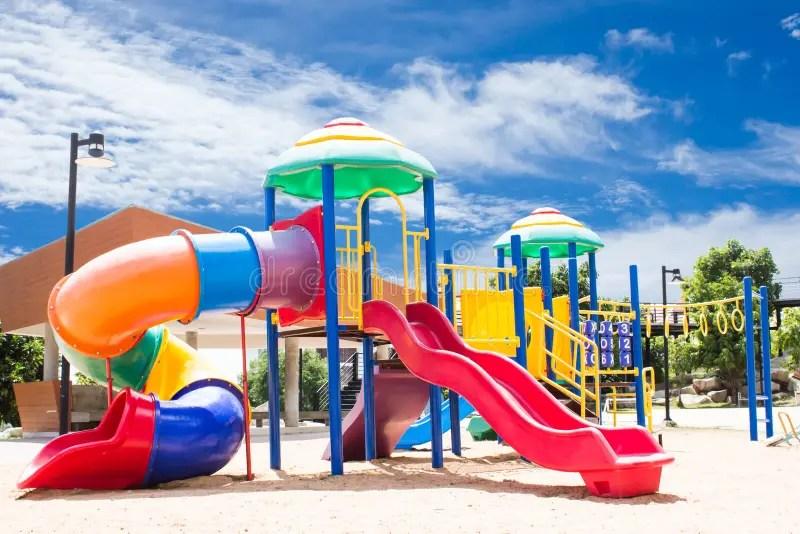 Beautiful Playground Stock Image Image Of Colorful
