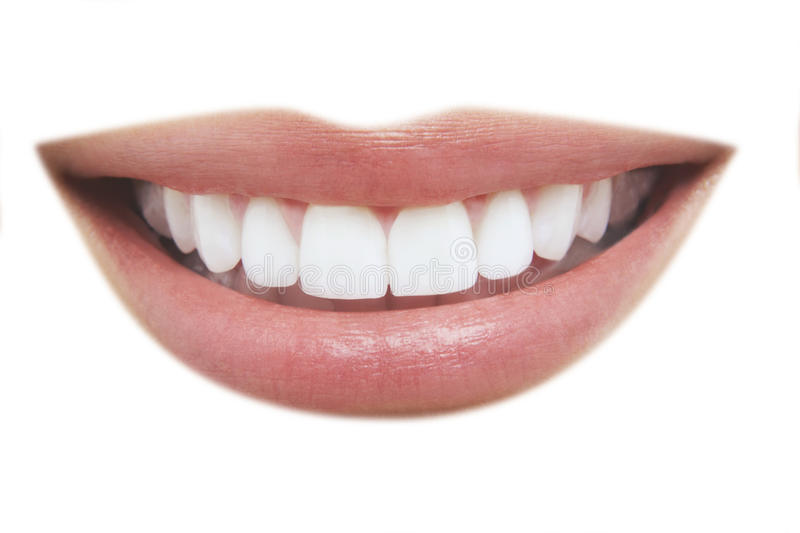 Beautiful Smile With Healthy Teeth Stock Image - Image of ...