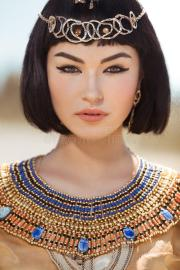egyptian queen cleopatra makeup