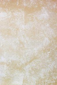 Beige Wall Painted With Textured Paint Roller Stock Image ...
