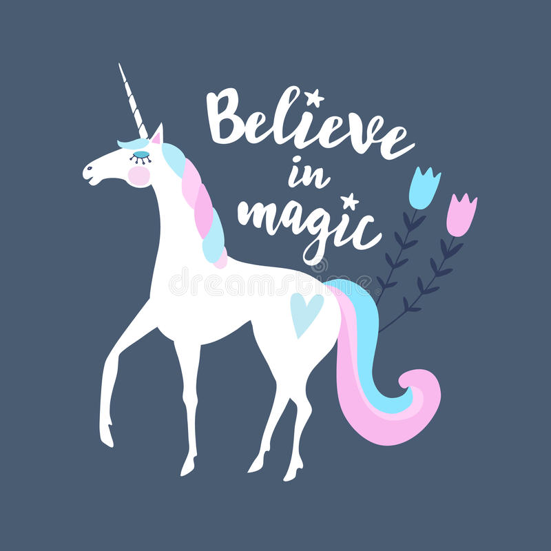 believe magic stock illustrations
