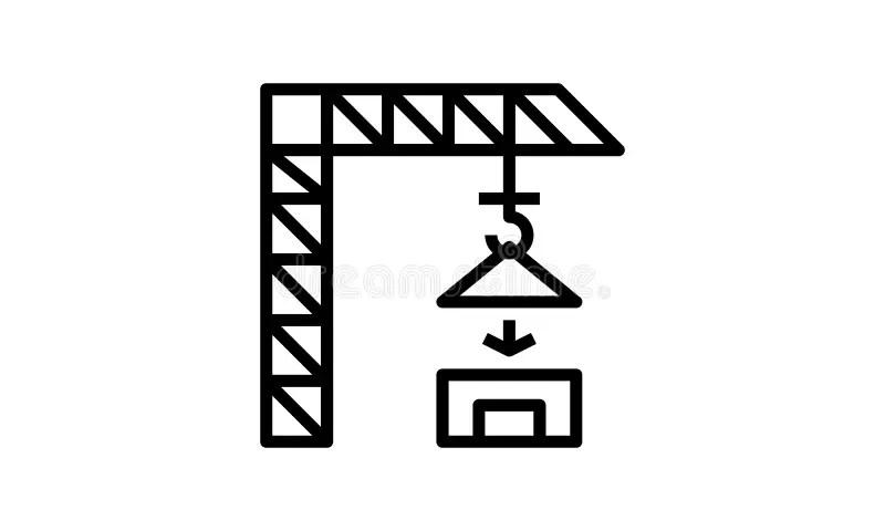 Elevatore di vettore illustrazione di stock. Illustrazione