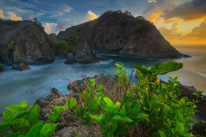 Bellissima Esposizione Di Lunga Durata Sunset Scenery A ...
