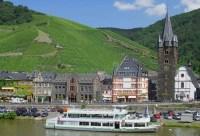 Bernkastel-Kues, Fleuve La Moselle, Allemagne Photo stock ...