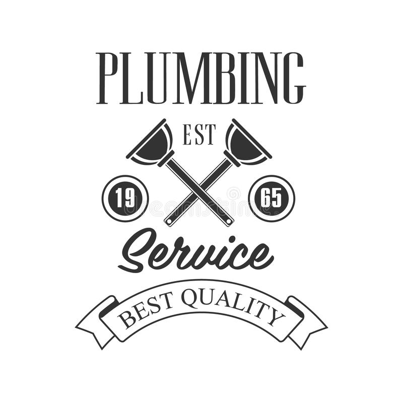 Best Quality Plumbing, Repair And Renovation Service Black