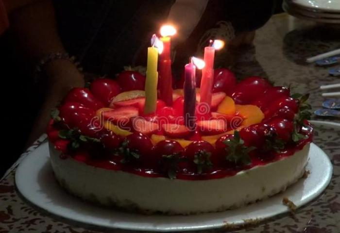 Birthday Cakes Candles Celebrations Stock Video Video Of Burning