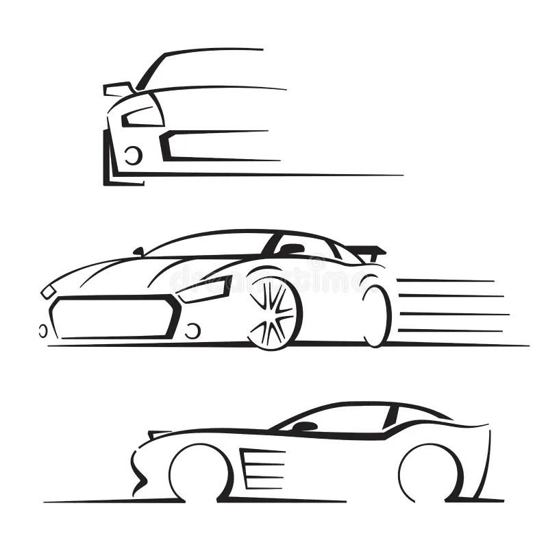 Auto Shop Car Logo Design With Concept Sports Vehicle
